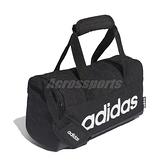 adidas 手提包 Linear Duffel Bag 黑 白 男女款 健身包 運動 訓練 健身房 【ACS】 FL3691