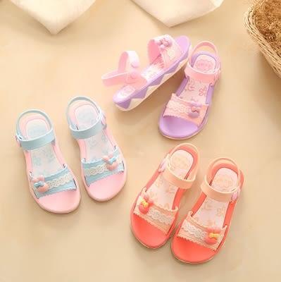 女童涼鞋兒童寶寶涼鞋女 男童小孩防滑軟底公主