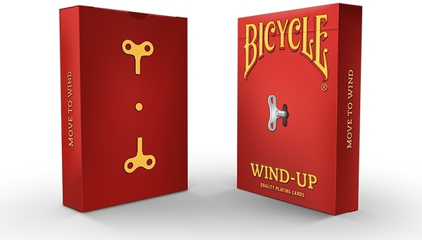 【USPCC 撲克】Wind-Up Playing Cards