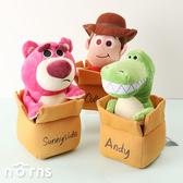 【玩具總動員4娃娃 紙箱情境】Norns迪士尼 正版玩偶 胡迪 抱抱龍 熊抱哥