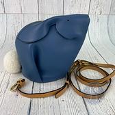 BRAND楓月 LOEWE 羅意威 藍兔造型 皮革 皮質 BUNNY BAG 隨身小包 可愛造型包 肩背包 側背包
