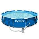 [衣林時尚] INTEX 超大金屬框架游...