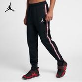 NIKE Jordan Jumpman 長褲 黑 兩側字母 縮口 男(布魯克林) 2018/12月 AR2251-010