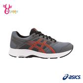 ASICS亞瑟士 成人男款 GEL-CONTEND 5 亞瑟膠 路跑入門 運動鞋慢跑鞋 A9115#灰色◆OSOME奧森鞋業