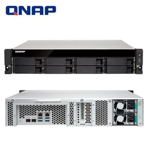 QNAP 威聯通 TS-832XU-RP-4G 8Bay NAS 網路儲存伺服器