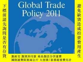 二手書博民逛書店The罕見World Economy: Global Trade Policy 2011Y410016 Dav