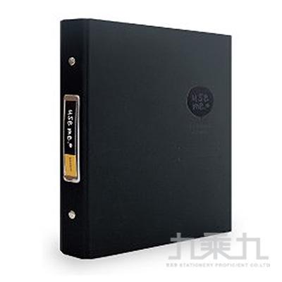 USE ME 20孔鐵夾資料夾(黑) SBN-268C