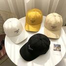 棒球帽 簡約 字母 刺繡 軟頂 可調節 壓舌帽 遮陽帽 棒球帽【CF061】 icoca  08/08