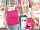 韓款隨身小斜包飛機多功能 護照包 小包 收納包 收納袋 旅遊收納 證件包 ‧3色【1818】