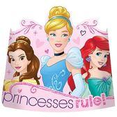 迪士尼 裝扮 6吋派對帽8入-迪士尼公主
