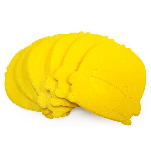 【奇買親子購物網】黃色小鴨浴室安全防滑墊(6片裝)
