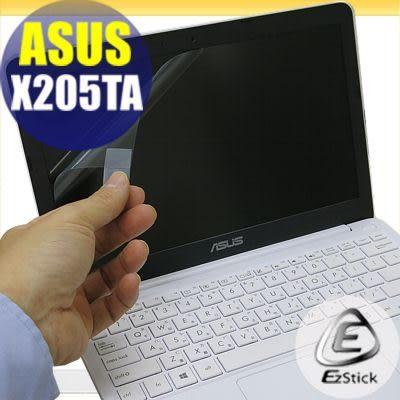 【EZstick】ASUS X205 X205TA 專用 靜電式筆電LCD液晶螢幕貼 (可選鏡面或霧面)