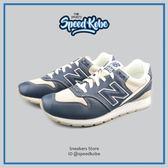 NEW BALANCE 580 復古慢跑鞋 藍灰米白 膠底 男女 MRL996JO【Speedkobe】