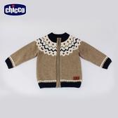 chicco 滑雪世界提織羊毛混紡針織外套