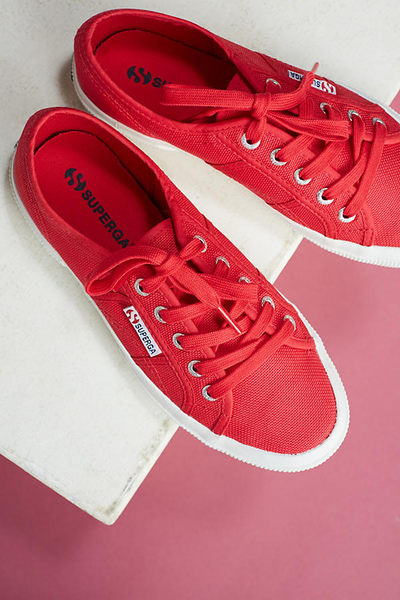 【BJ.GO】 Superga 2750 Classic Red Sneakers 經典甜心紅色運動鞋/義大利時尚品牌