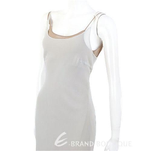 GBR灰綠色雙層紗質細肩帶洋裝 0520951-A1