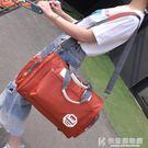 韓版大容量旅行袋手提旅行包輕便簡約潮男小行李包女短途旅游健身 快意購物網