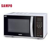 ~SAMPO ~~聲寶25L 微電腦微波爐RE N825TM