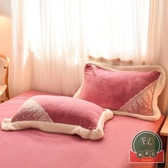 【1.5m/1.8m/2.0m】床上四件套冬季雙面絨床單法蘭絨被套【福喜行】