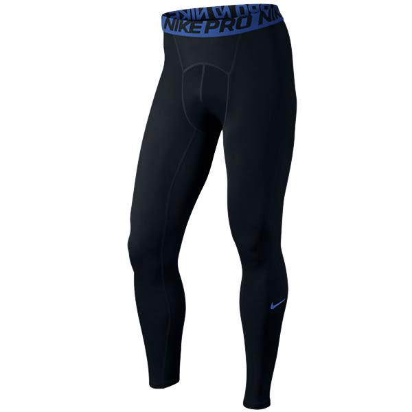 (特價) NIKE PRO 緊身系列長束褲 703098-011 黑藍 緊身長褲 運動束褲 籃球束褲 薄束褲 【代購】