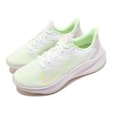Nike 慢跑鞋 Wmns Zoom Winflo 7 綠 灰 女鞋 運動鞋 【ACS】 CJ0302-100