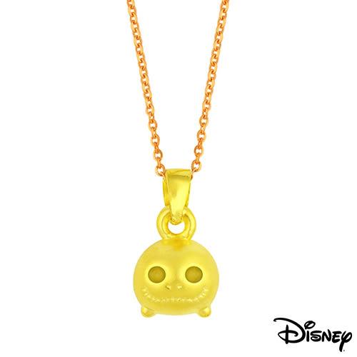 Disney迪士尼金飾 TSUM傑克 黃金墜子 送項鍊