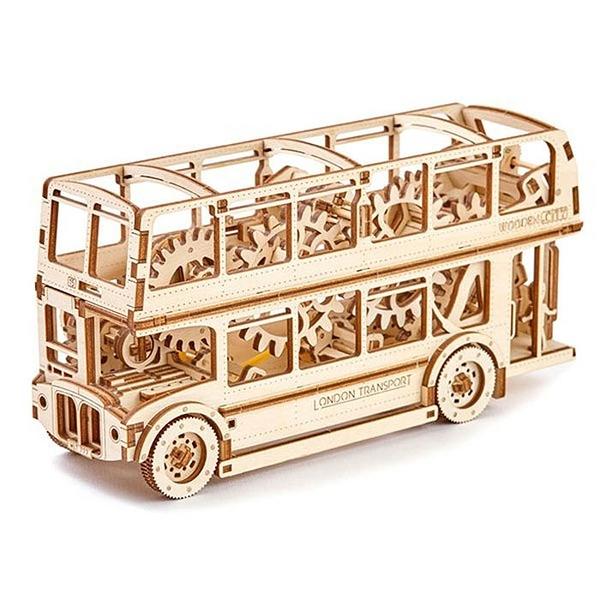 WOODEN.CITY 英國倫敦雙層巴士 London Bus 復古倫敦巴士