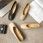 女鞋奶奶鞋韓版百搭舒適單鞋時尚個性豆豆鞋  沸點奇跡