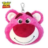 日本限定 迪士尼 玩具總動員 熊抱哥 大臉 伸縮 票卡夾 玩偶零錢包