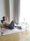 懶人沙發榻榻米床摺疊靠背單人臥室小床上地上房間陽台網紅款椅子NMS小明同學