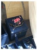 三層首飾盒飾品盒耳釘戒指項鏈收納盒