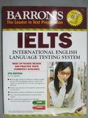 【書寶二手書T1/語言學習_ZAT】Barron s IELTS_Lin Loughleed     _附光碟