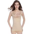 塑身上衣收腹束腹緊身內衣女士無縫束身衣美體塑形塑身背心薄【S8855】