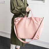 韓版可套拉桿箱旅行包男女長短途旅游登機防水包單肩手提健身大包igo     琉璃美衣