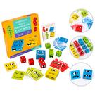 積木益智玩具 親子桌遊兒童變臉魔術方塊 紙牌遊戲-JoyBaby