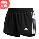 【現貨】ADIDAS PACER 3-S 女裝 短褲 慢跑 訓練 吸濕 排汗 透氣 黑【運動世界】EC0475