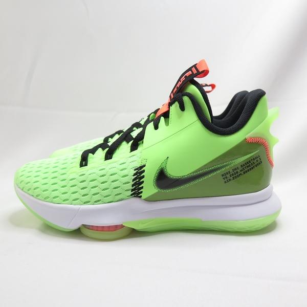 NIKE LEBRON WITNESS V EP 男款 運動鞋 籃球鞋 CQ9381300 螢光綠【iSport愛運動】