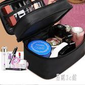 化妝包小號便攜手提旅行化妝品收納包袋簡約雙層大容量防水洗漱包 ys7823『易購3c館』
