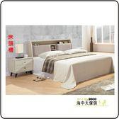 {{ 海中天休閒傢俱廣場 }} F-08  摩登時尚 臥室系列 16-A  凱威灰橡5尺枕頭型床