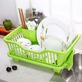 加厚大號碗筷瀝水架塑料碗架碗碟瀝水置物架餐具漏水籃子廚房收納【端午節好康89折】