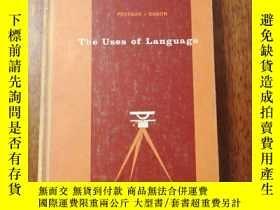 二手書博民逛書店THE罕見USES OF LANGUAGE(語言的使用)Y164