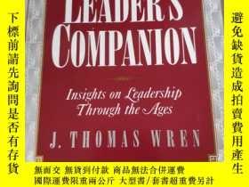 二手書博民逛書店The罕見Leaders Companion: Insights
