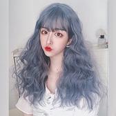 整頂假髮(長髮)-大波浪羊毛捲蓬鬆可愛女假髮73xw6[時尚巴黎]