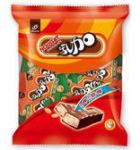 77乳加巧克力袋裝 123g*2袋