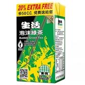 生活 泡沫綠茶 300ml (6入)/組【康鄰超市】