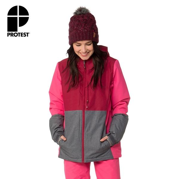 PROTEST 女 機能防水保暖外套 (花卉色) SERENITY SNOWJACKET