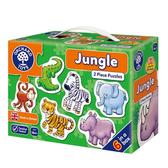 【英國 Orchard Toys】第一組拼圖-叢林動物 OT-205