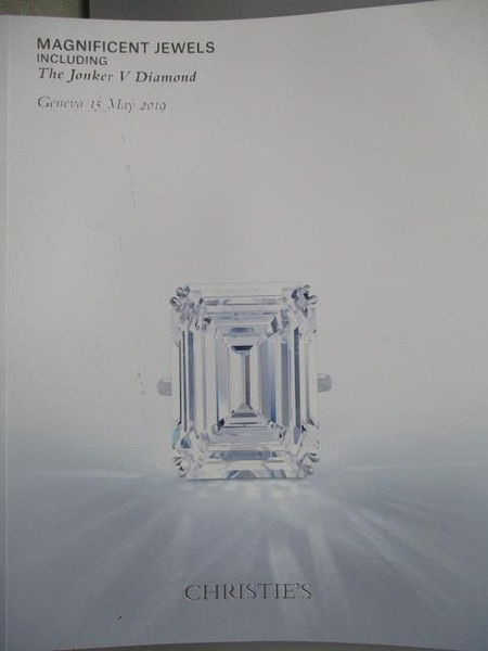 【書寶二手書T8/收藏_YIF】Christie s_Magnificent Jewels…2019/5/15