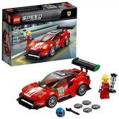 "LEGO 樂高 Speed Champions Ferrari 488 GT3 ""Scuderia Corsa"" 75886 Building Kit (179 Piece)"