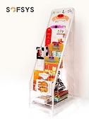 兒童繪本架窄書架鐵藝幼兒園報刊書架簡易寶寶展示架6層S ATF 童趣潮品